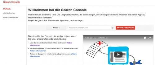 Informiere die Google Webmaster Tools über deinen Blog