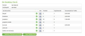 Ranking-Spy kostenlose SEO Tools Screenshot