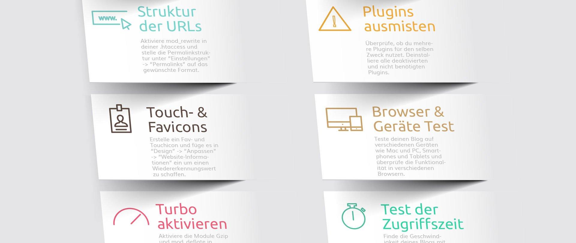 Vor dem Blog Start Infografik