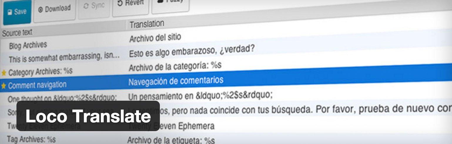 WordPress übersetzen mit Loco Translate