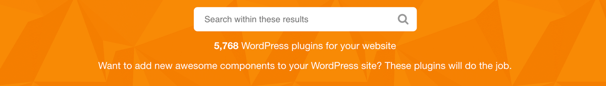 WordPress Plugins auf Codecanyon