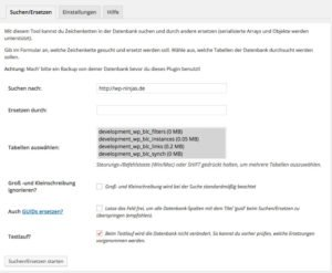 WordPress SSL Verschlüsselung Plugin Search and Replace