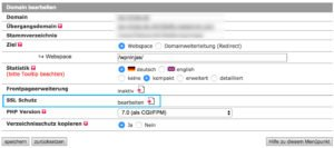 WordPress SSL aktivieren bei all-inkl