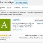 WordPress Plugins hochladen - Schritt 2