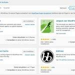 WordPress Plugins installieren - Schritt 2