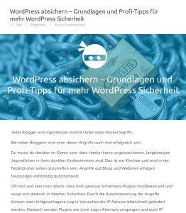 Ein Beitragsbild in WordPress