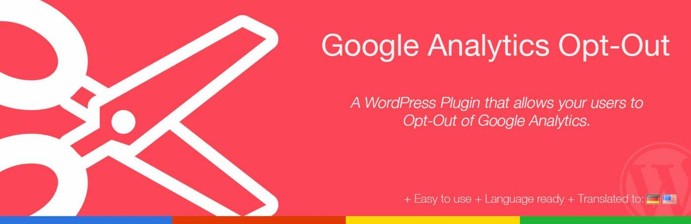 Das Google Analytics Opt Out Plugin für WordPress