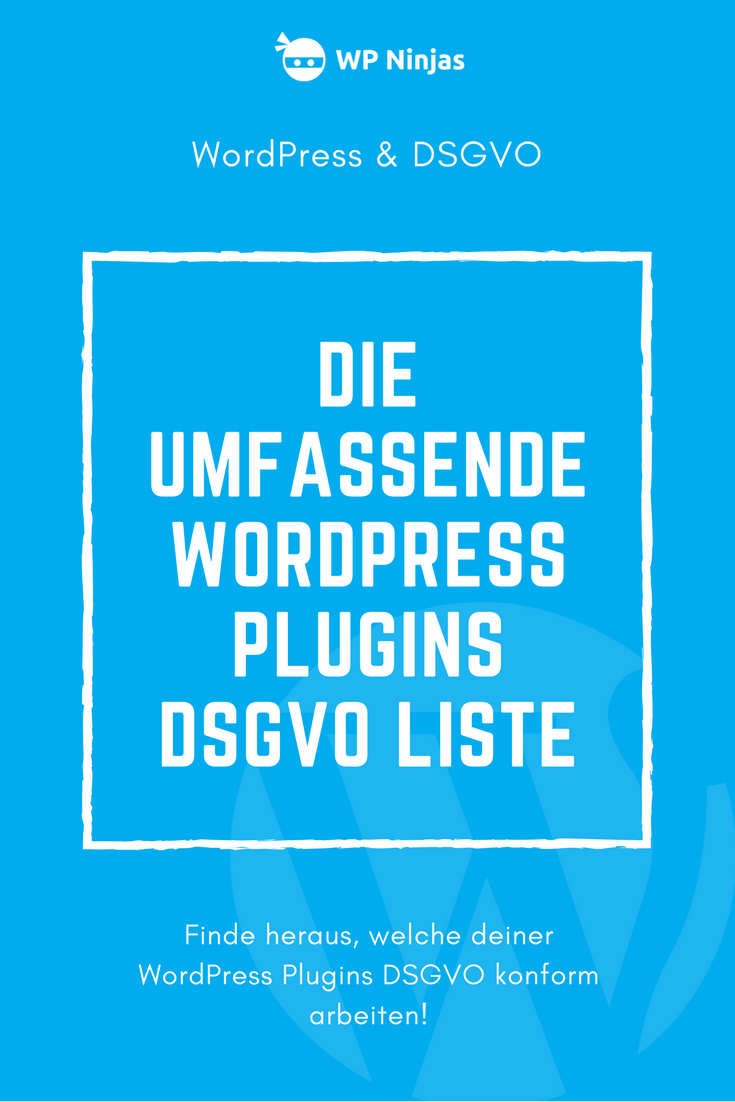WordPress Plugins DSGVO Pinterest Bild