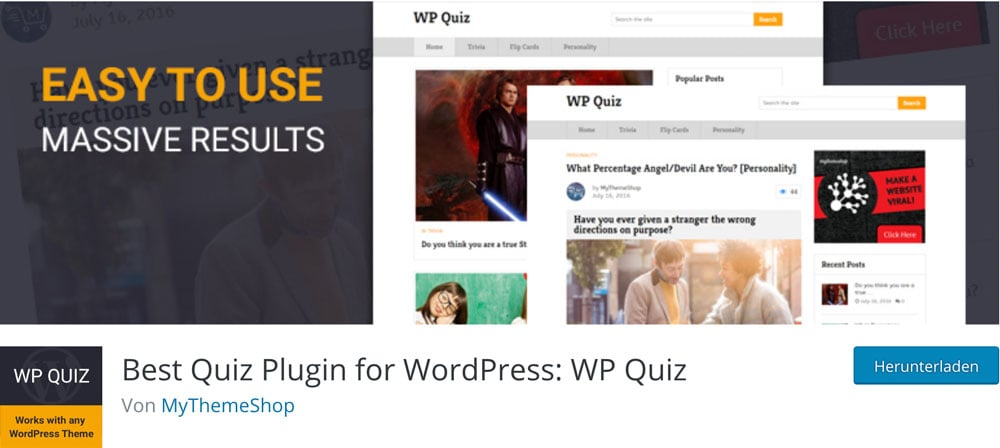 WP Quiz Traffic Plugin Titelbild