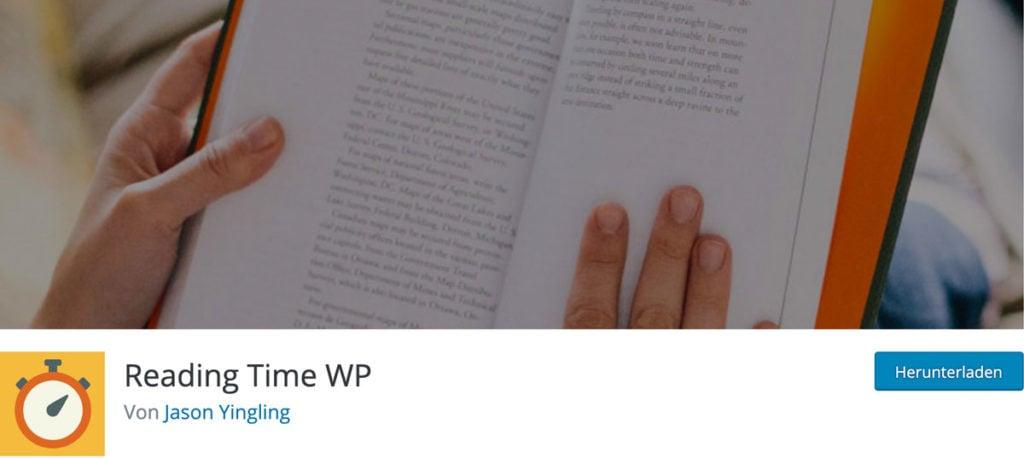 WordPress Lesedauer mit dem Plugin Reading Time WP anzeigen