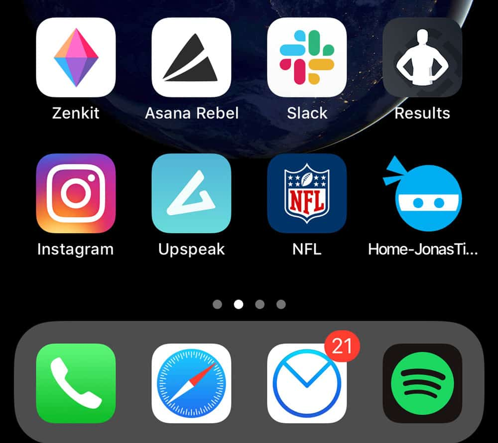 Favicon als App-Icon auf Smartphones