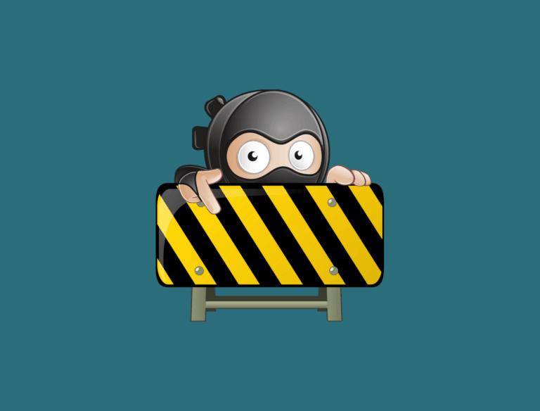 WordPress Wartungsmodus Headbild