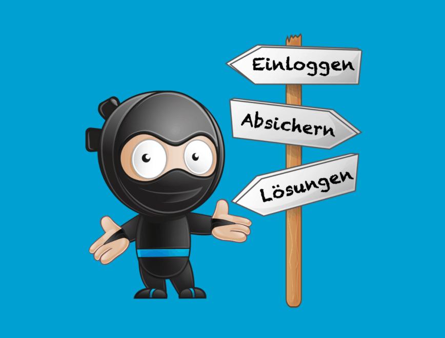 Der WordPress Login – Einloggen, Absichern, Problembehebung
