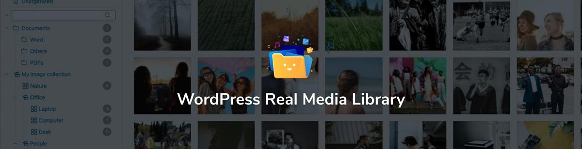 WordPress Real Media Library Website Screenshot