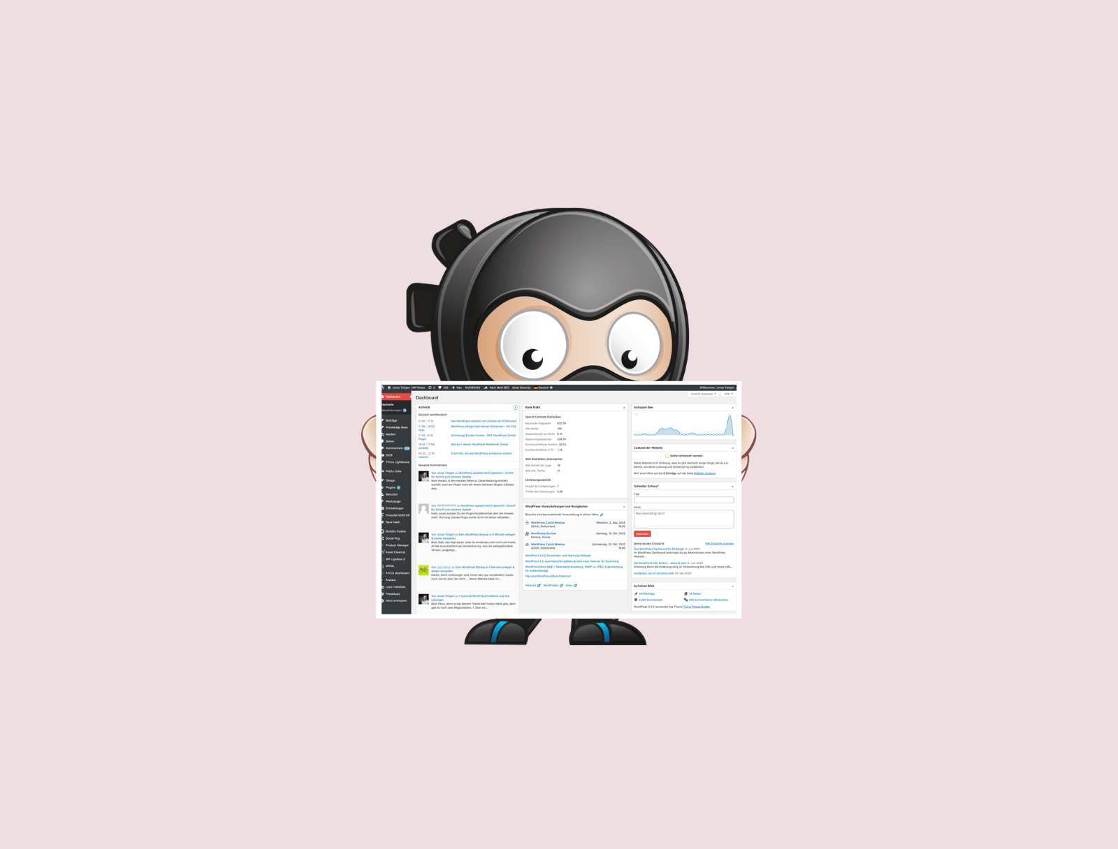 WordPress Dashboard Head