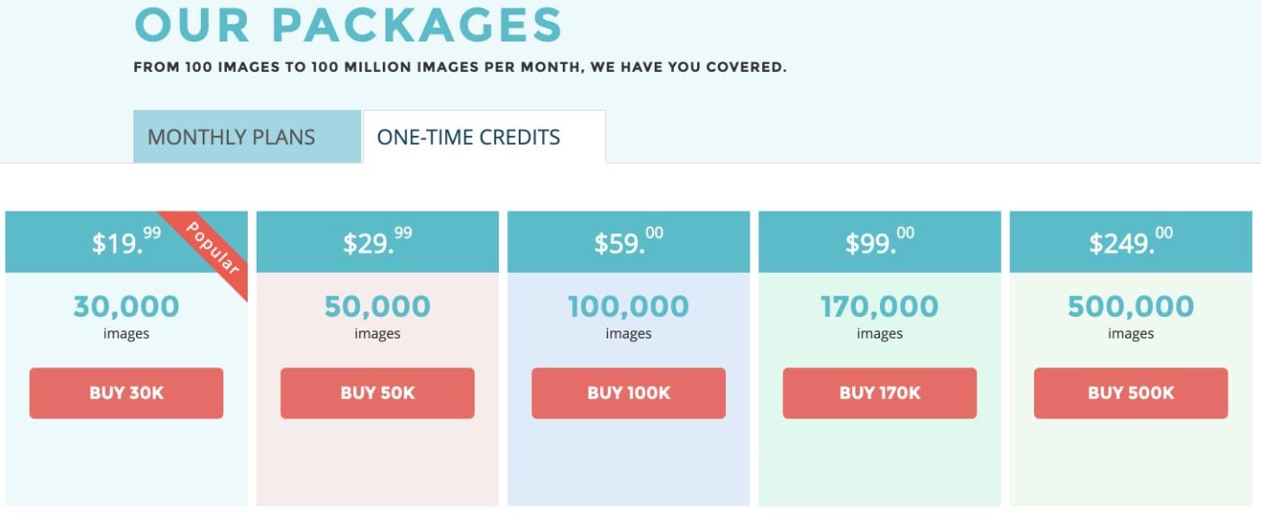 Shortpixel Optimizer Preise bei einmaliger Zahlung